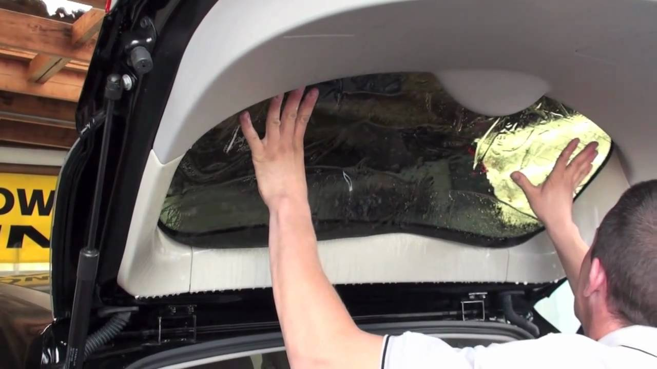 All about car tinting