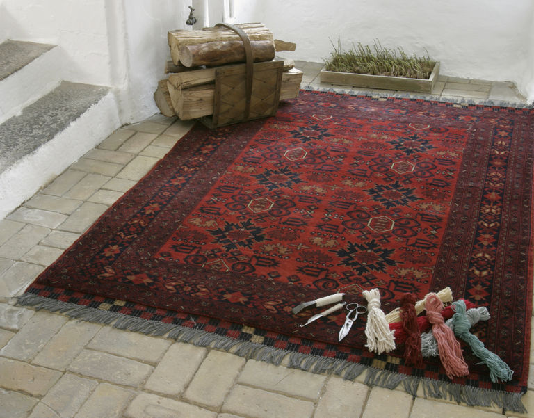 Famous countries for Hand made Carpets.