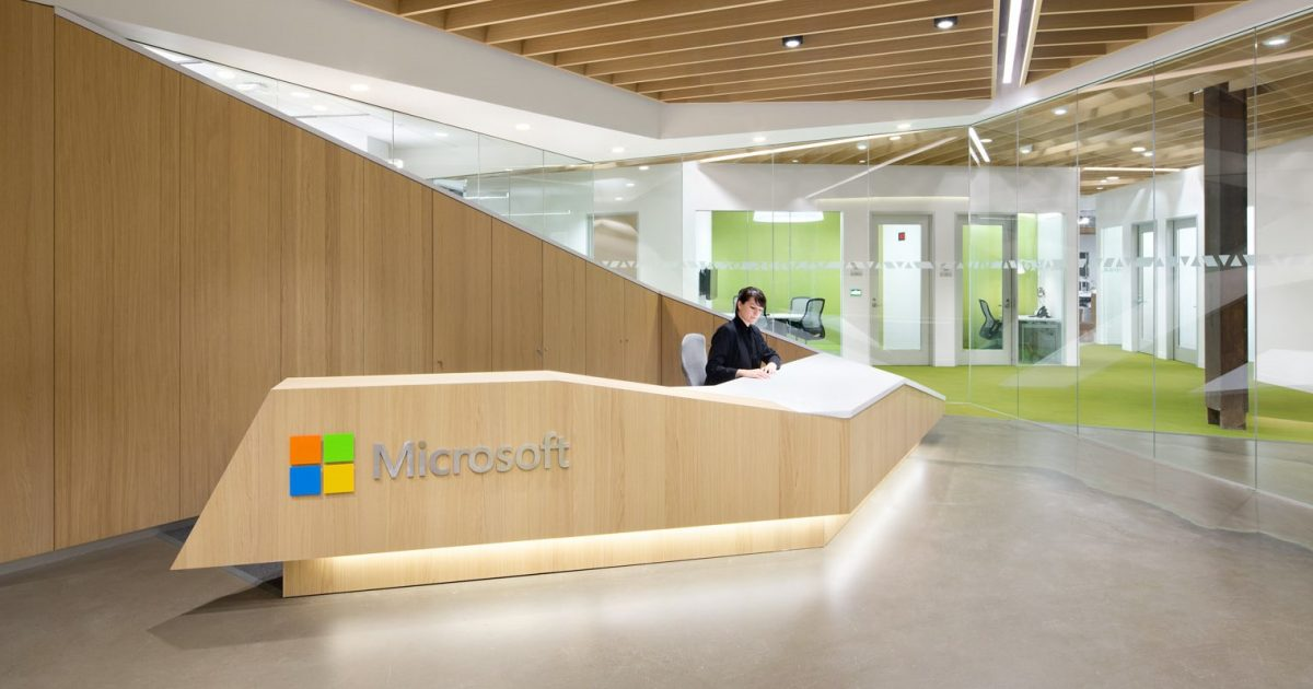 Microsoft offices evolving over the years